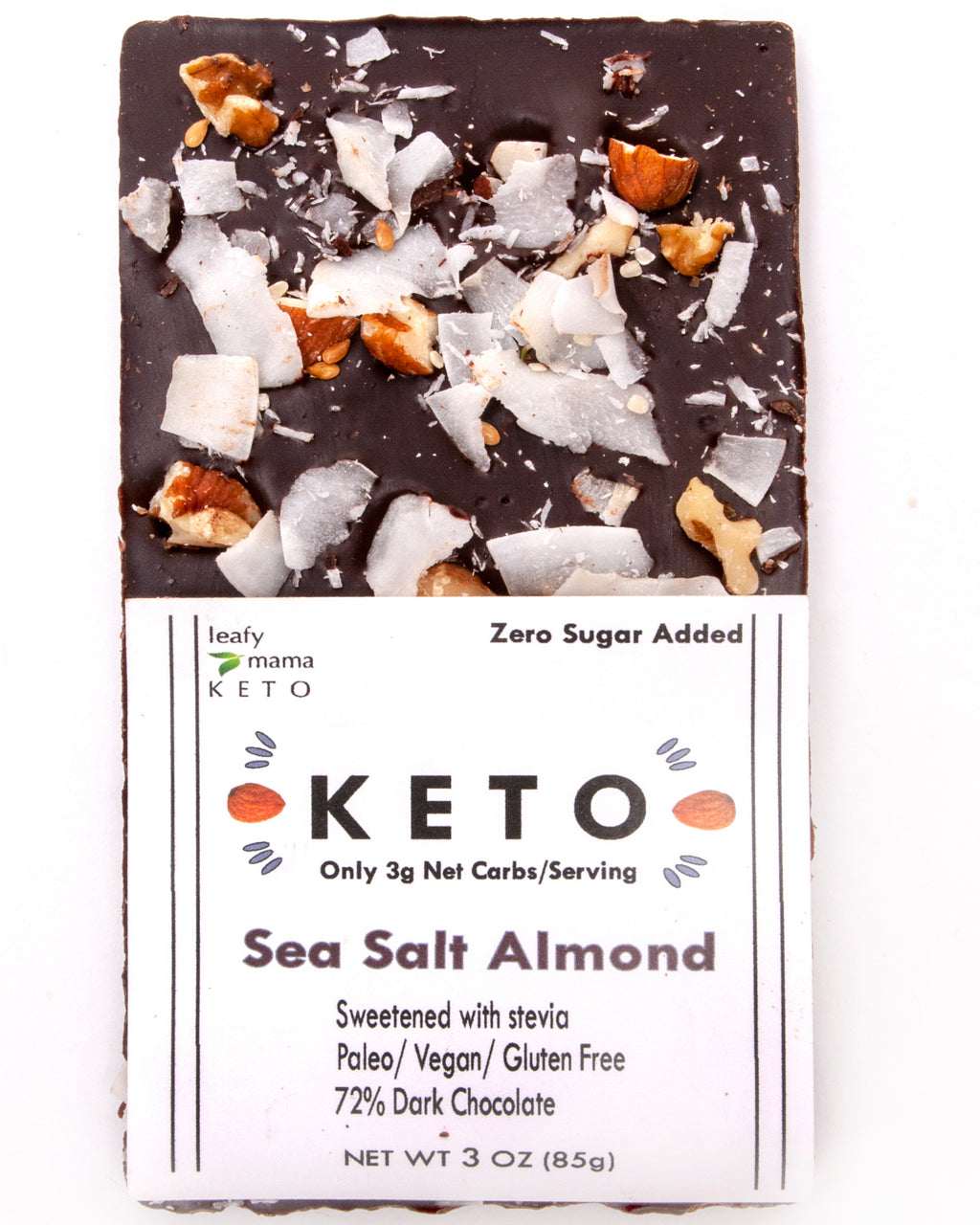 Keto Coconut and Nuts Bar
