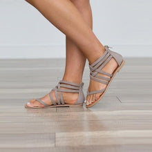 Load image into Gallery viewer, Zipper Heel Sandals