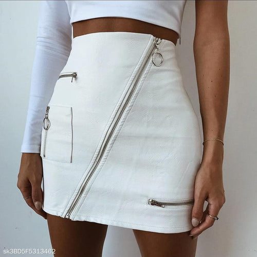 Fashion Sexy PU Skirt