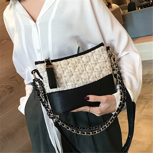 Fashion wild chain casual messenger bag