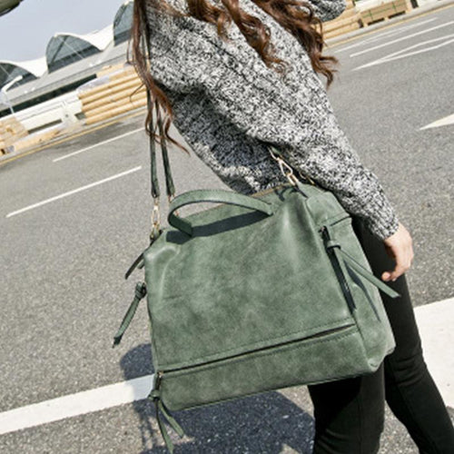 Autumn And Winter New Fashion Retro Big Bag Handbag Shoulder Bag