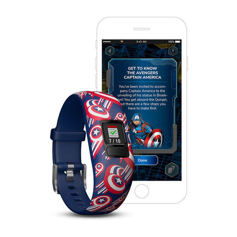 Image of Vivofit Jr. 2, Adjustable - Avengers