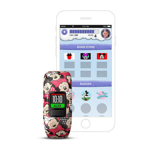 Vivofit Jr. 2, Stretchy - Minnie Mouse