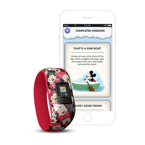 Image of Vivofit Jr. 2, Stretchy - Minnie Mouse