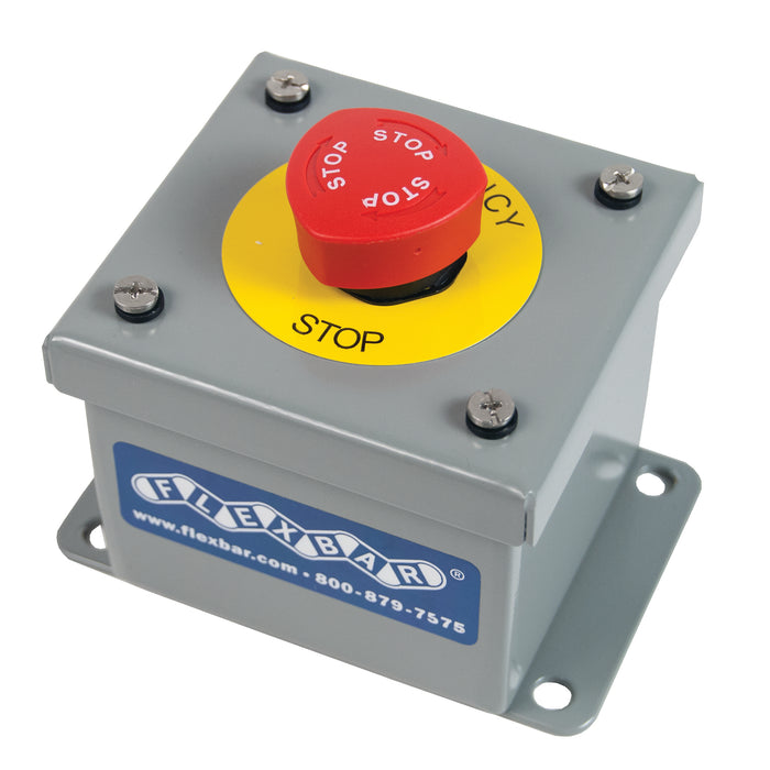 Emergency Stop Button (Plastic or Metal Enclosure)