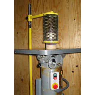 Floor Mount Spindle Sander Guard