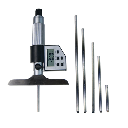 IP54 Digital depth Micrometer Set