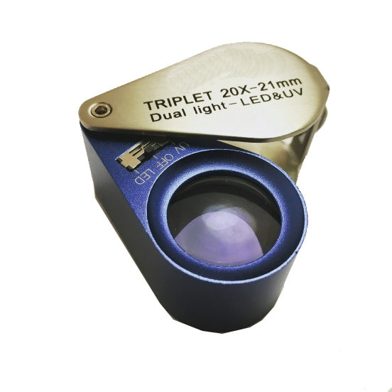 Optical Loupe with Lighting