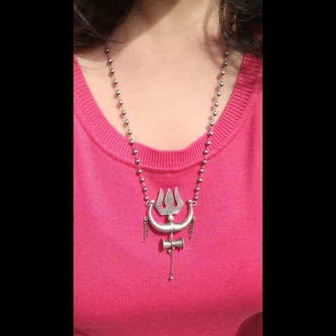 Shiv Necklace, Trishool