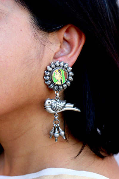 Bani-Thani and Parrot earring