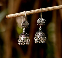 Small Sterling Silver Dangle  Jhumki/Jhumka