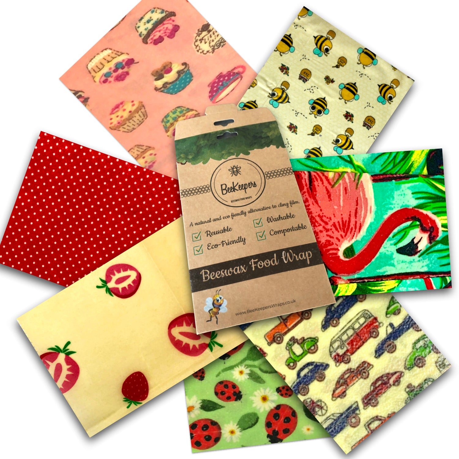 Starter Pack of 7 Wraps - Various