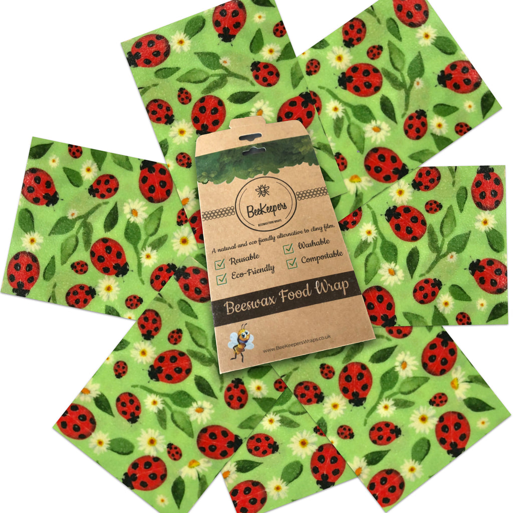Starter Pack of 7 Wraps - Ladybirds