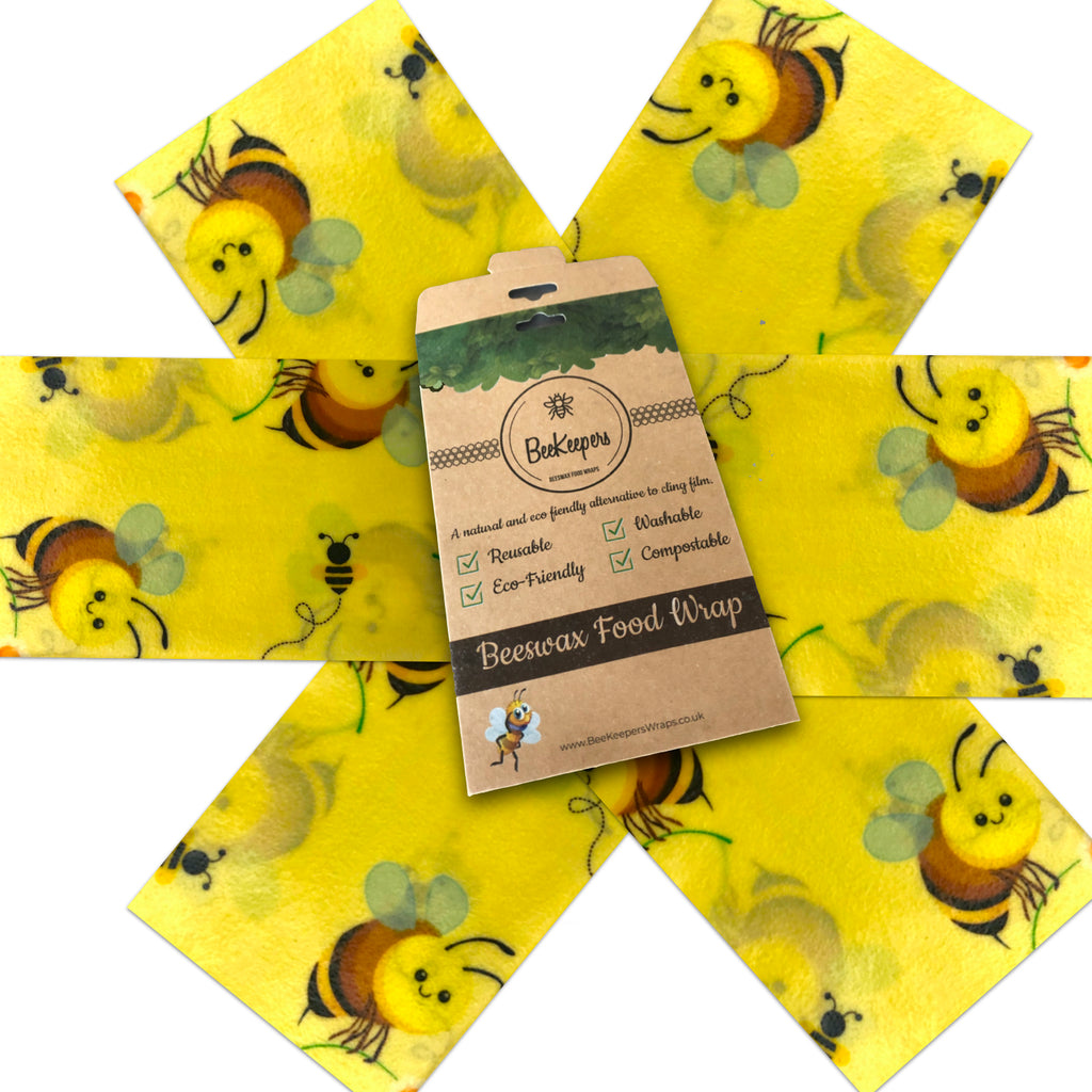 Starter Pack of 6 Wraps - Bees