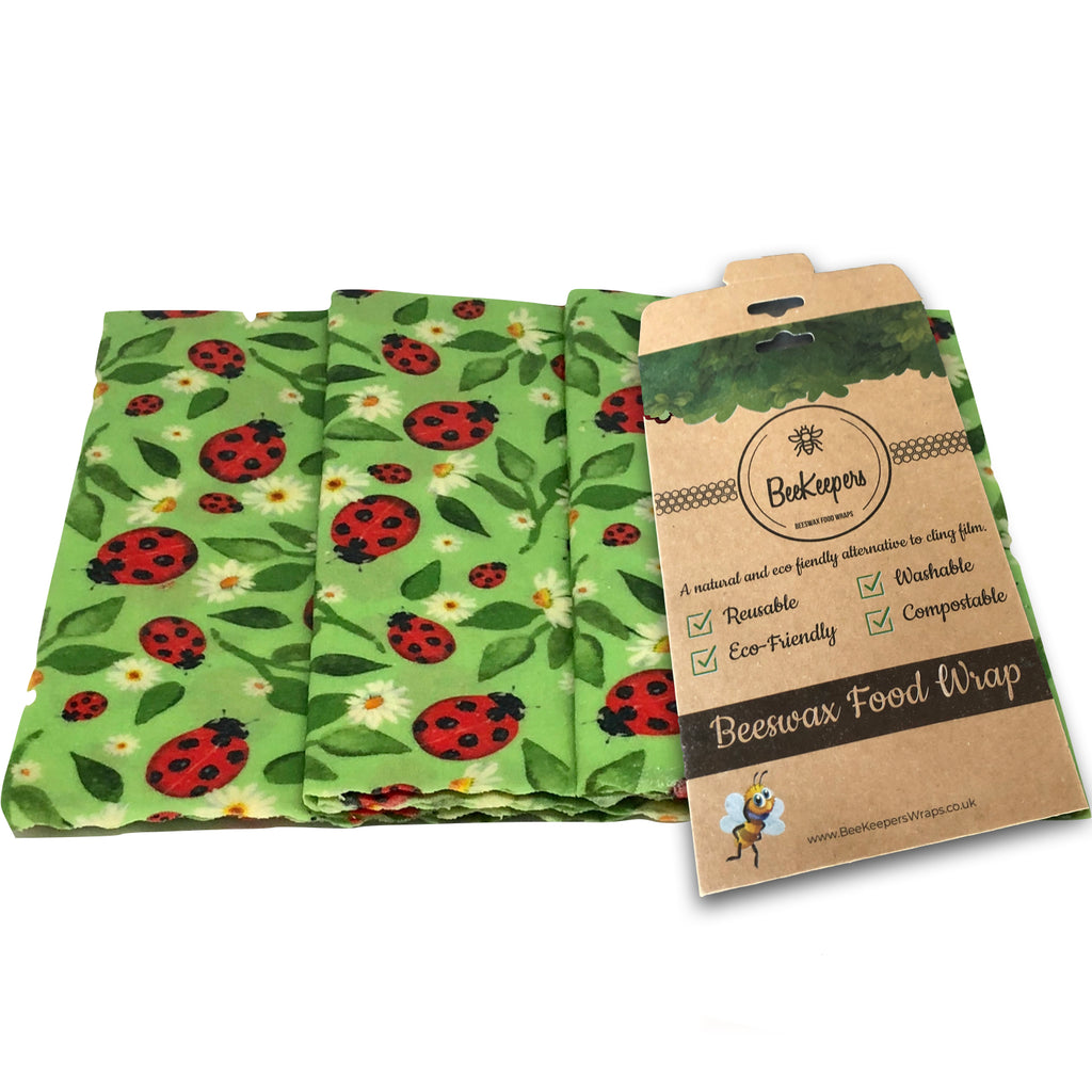 Large Wraps Pack - Ladybirds