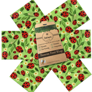 Starter Pack of 6 Wraps - Ladybirds