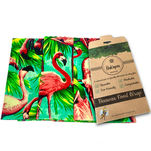Large Wraps Pack - Flamingos