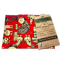 Large Wraps Pack - Red Cats
