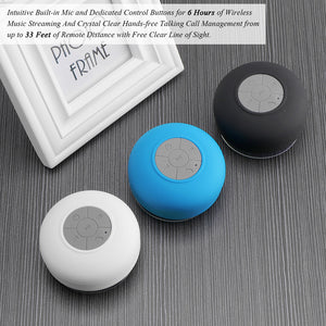 Portable Bluetooth Speaker - Wireless, Waterproof and Eco-Friendly