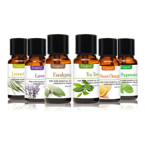 100% PURE & NATURAL ESSENTIAL OILS