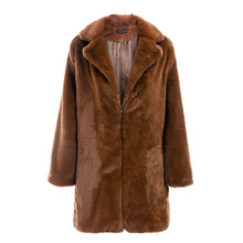 Load image into Gallery viewer, Plush, Faux Fur Coat