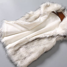 Load image into Gallery viewer, Faux Fur Vest Jacket