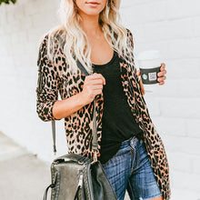 Load image into Gallery viewer, Leopard-Print Sweater