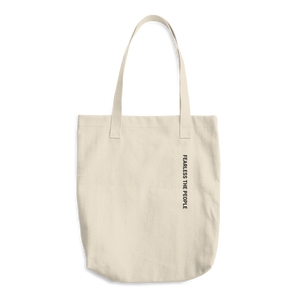 Cotton Tote Bag - FEARLESS THE PEOPLE