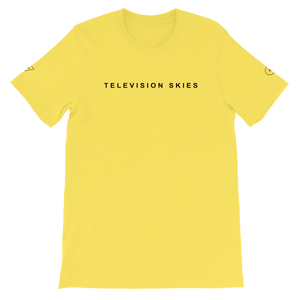 TELEVISION SKIES Tee - FEARLESS THE PEOPLE