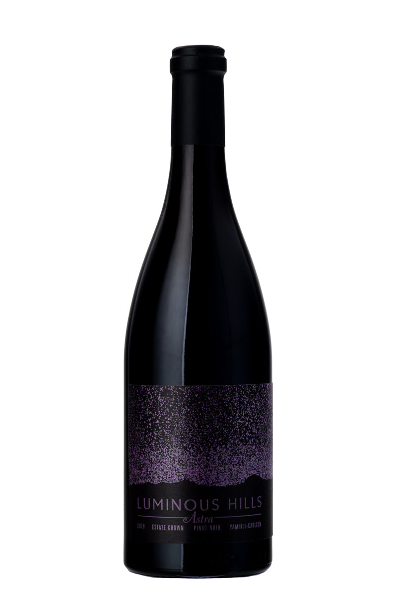 2018 Estate Grown ASTRA Pinot Noir