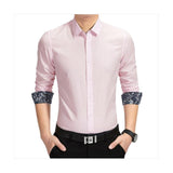 Combo of 3 Branded men's cotton long sleeves Casual narrow cut shirts