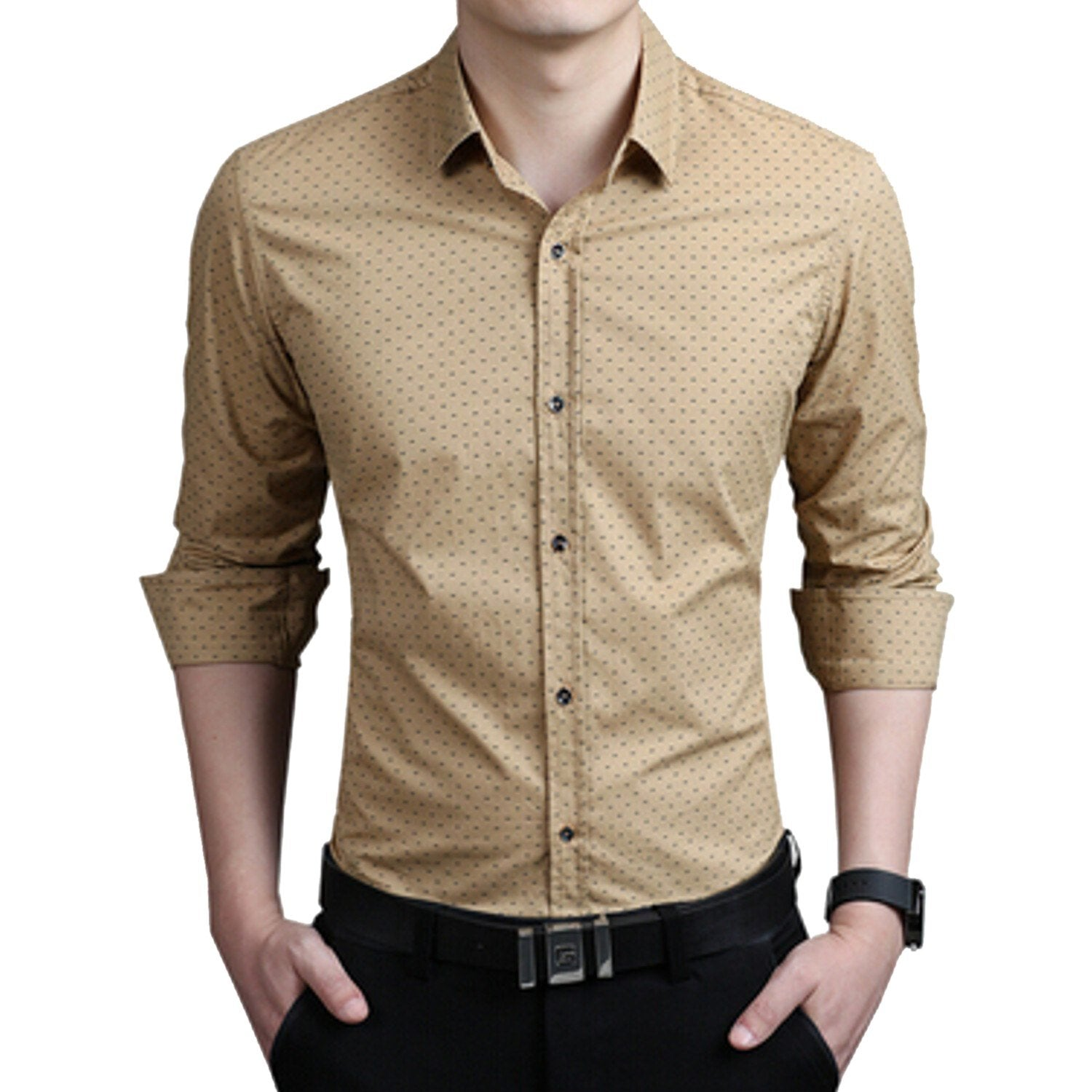 52e38fc71 ... Combo of 3 Men's Shirt with Splash Printed with long sleeves ...