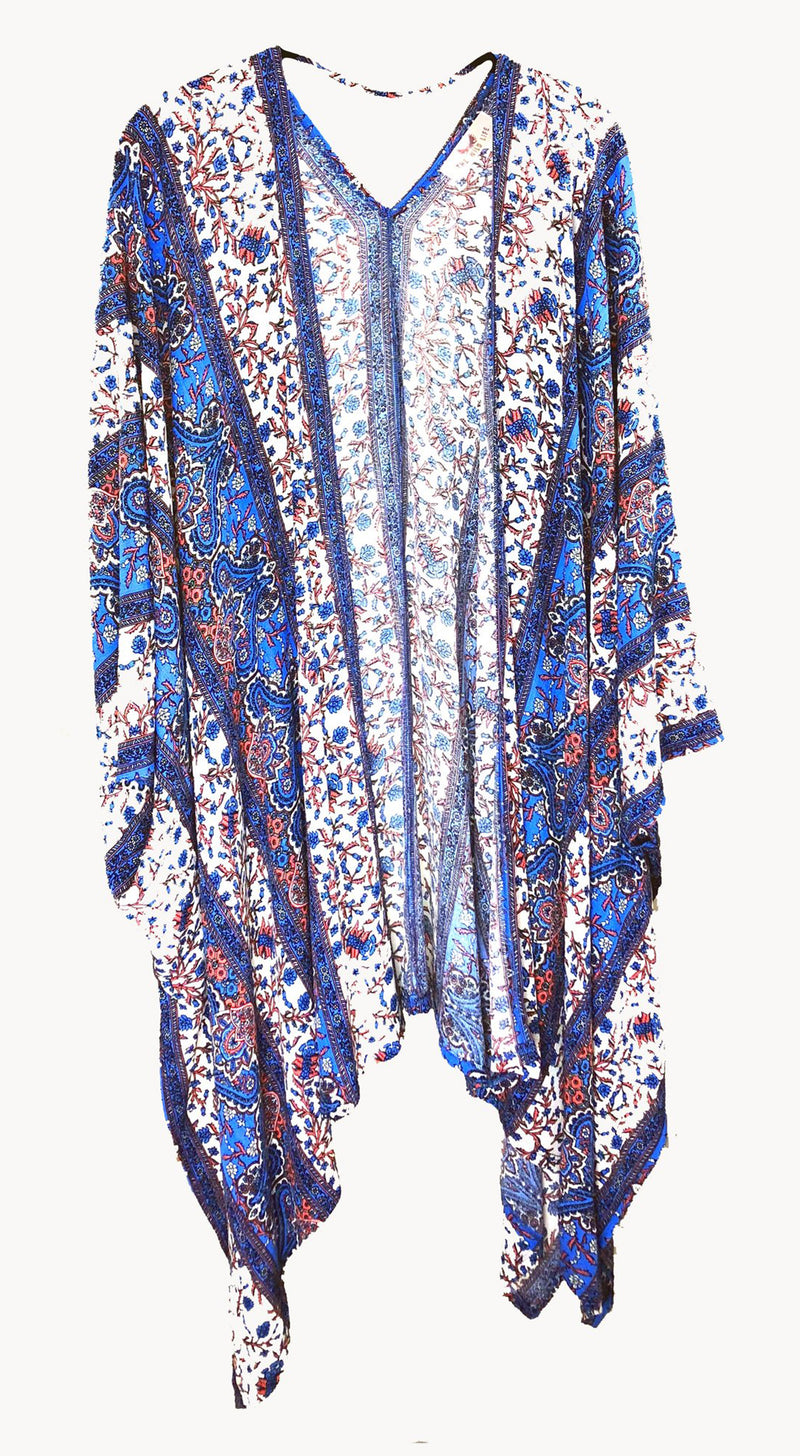 Mother of All Kimonos, Santorini Blue