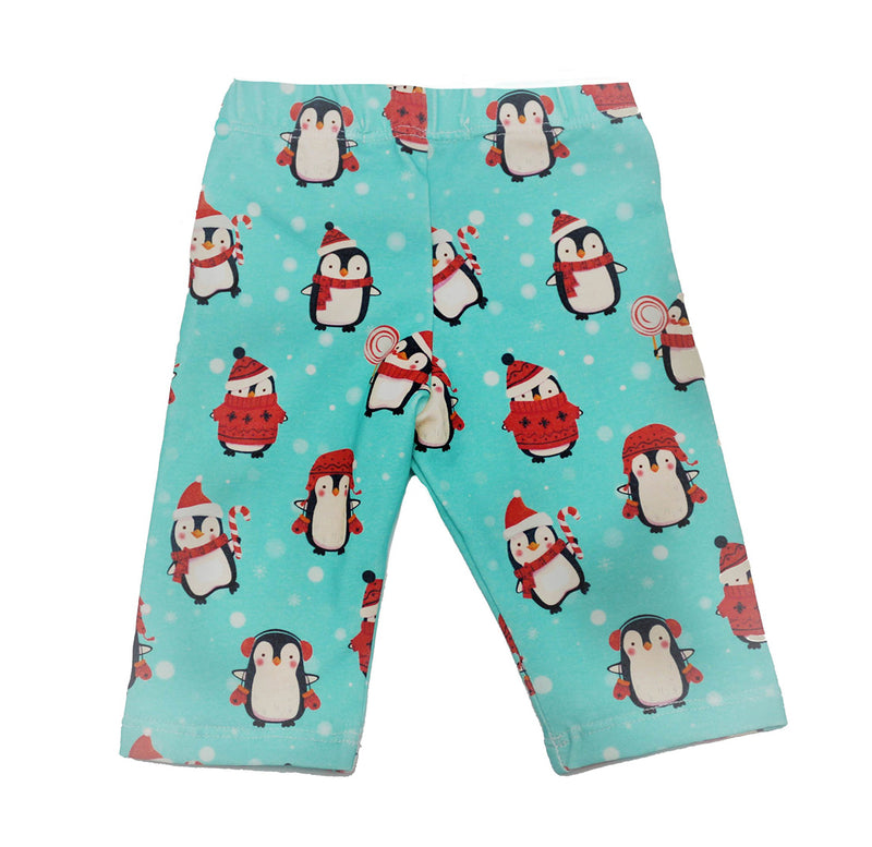 Special Holiday Edition Everyday Legging  in Penguin Print