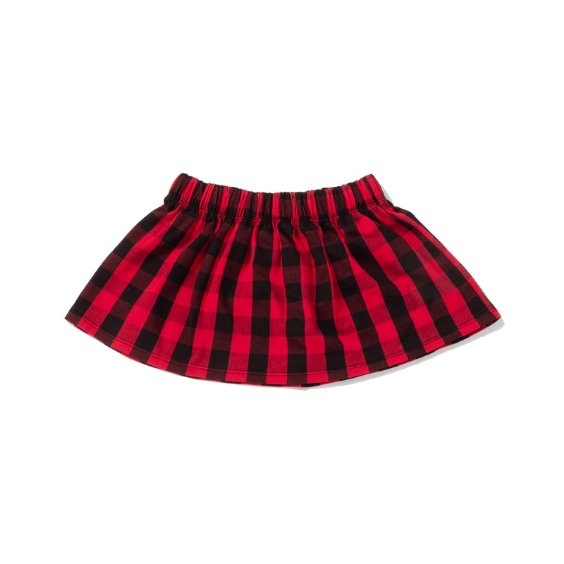 Special Holiday Edition Skirt in Buffalo Plaid