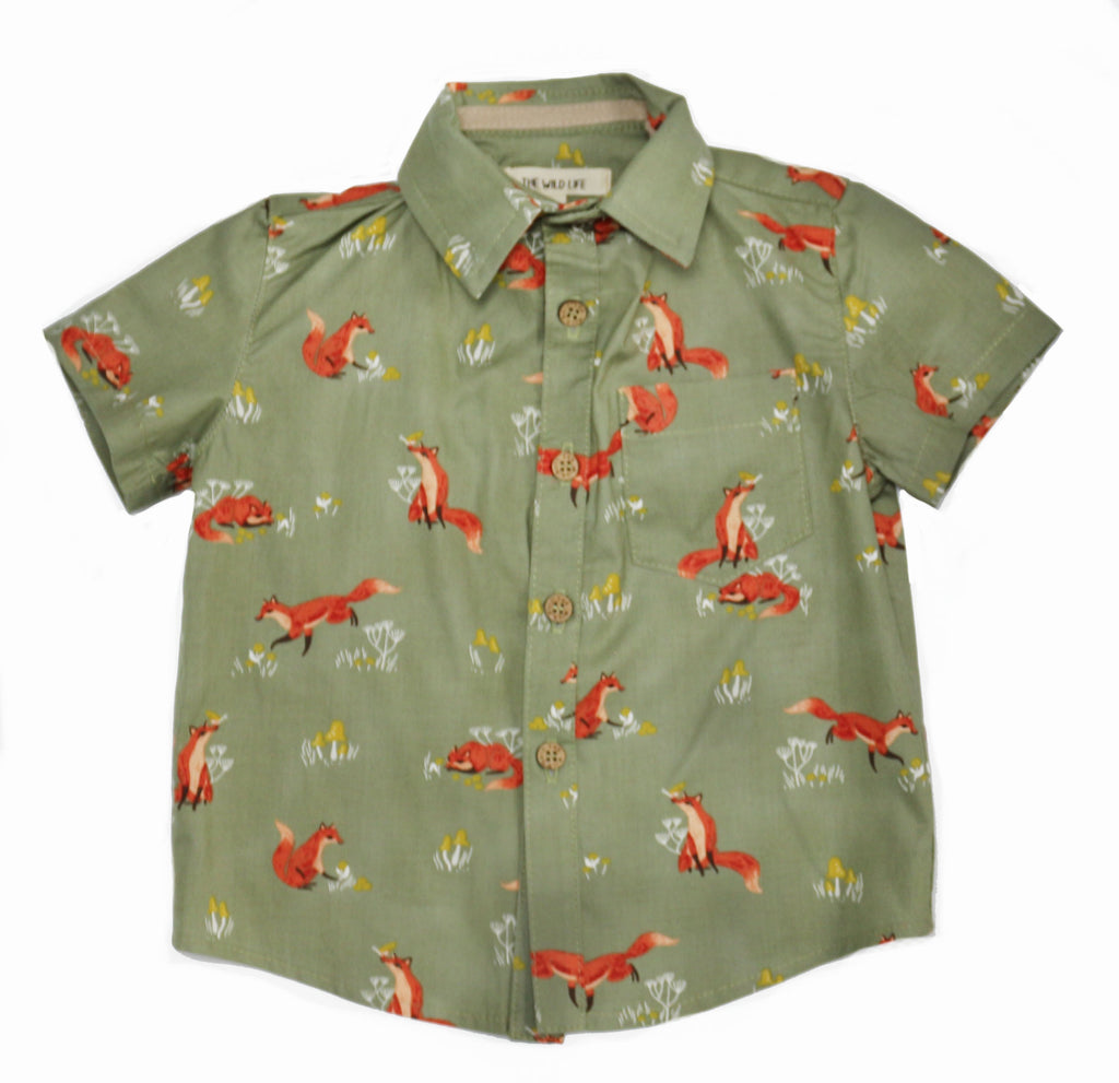 Camp Button Down, Fox