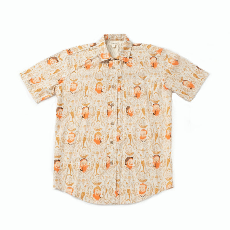 Men's Camp Shirt, Salty Sailor