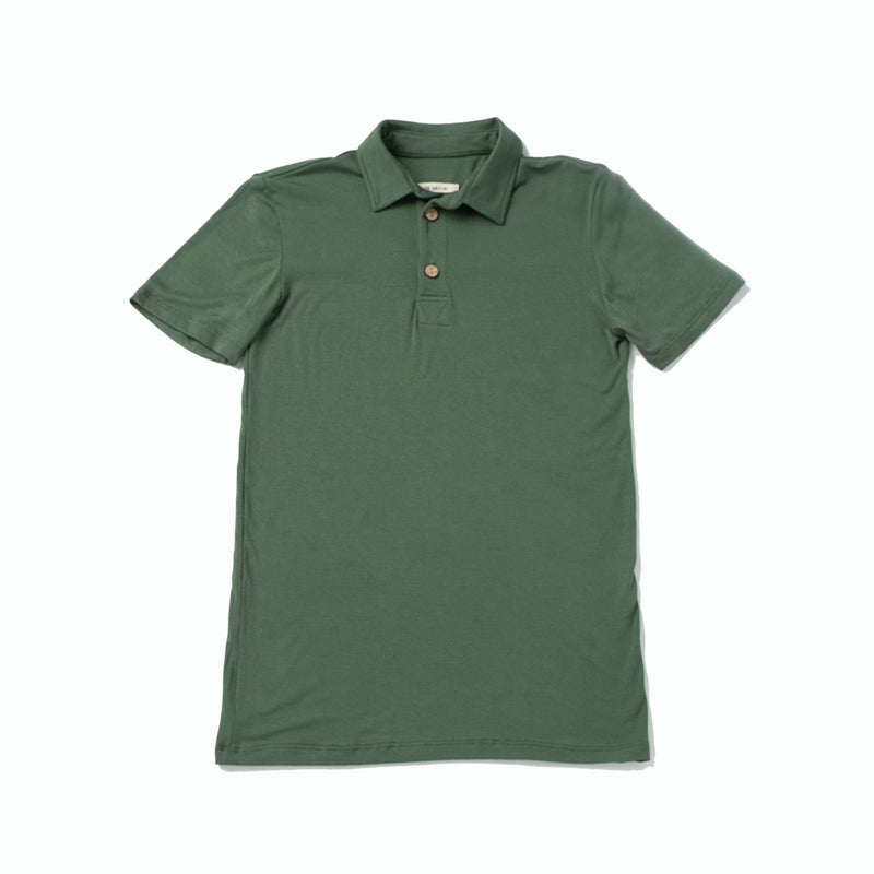 Brennan Men's Polo, Leaf