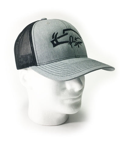 Gray Signature Pigman's Trucker Hat