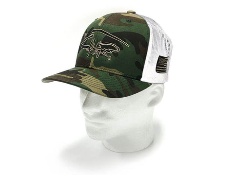 Image of Camo Signature Pigman Trucker's Hat