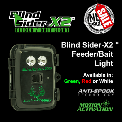 Kill Light® Blind Sider X2 - Dual LED Motion Activated Hunting Light