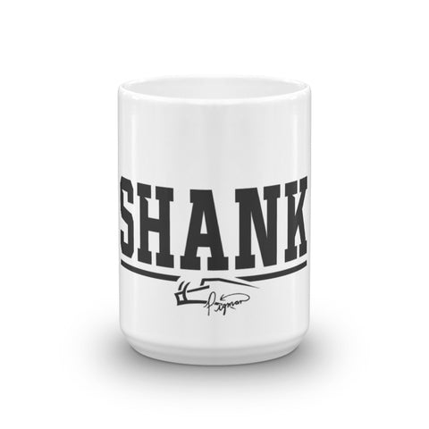 SHANK Your Morning White Mug 15oz