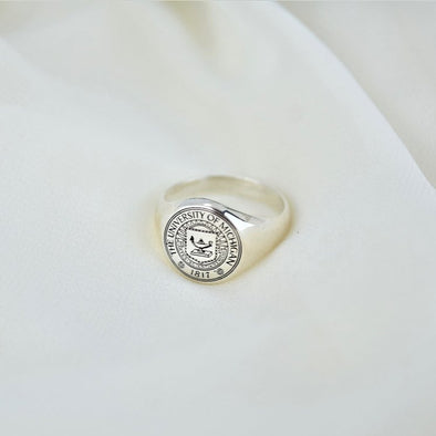 925 Sterling Silver Custom College Class Ring