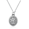 925 Sterling Silver Tree of Life Cremation Urn Jewelry Necklace Pendant for Ashes - onlyone