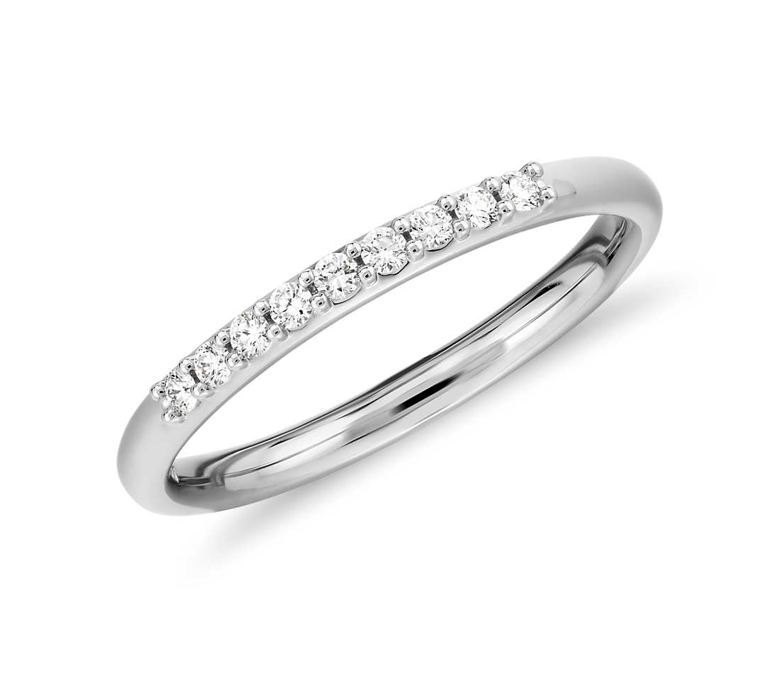 14K Petite Diamond Ring 0.1 Carat Total Weight - onlyone