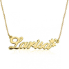 925 Sterling Silver Custom Larisa Name Necklace Nameplate Necklace - onlyone