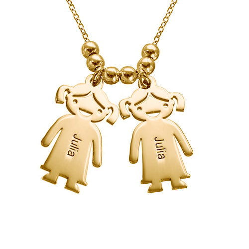 925 Sterling Silver Family Necklaces, Necklace With Kids Name