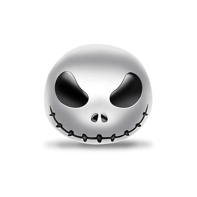 925 Sterling Silver Pumpkin King Jack Nightmare Before Christmas Charm, Halloween Jewelry