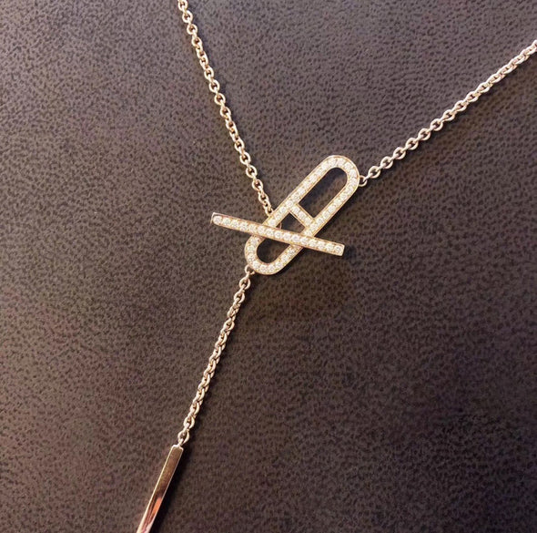 925 Sterling Silver Elegant Anchor Chain Necklace - onlyone