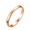 925 Sterling Silver Personalized Thin Band Engraved Ring - onlyone